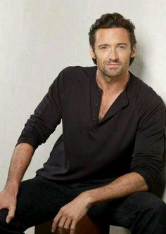 Gorgeous Hugh Jackman ♥ Don't cha want him?!
