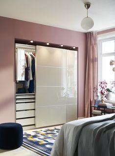 Armoire Pax Ikea, Ikea Pax Doors, Ikea Pax Closet, Closet Doors, Wardrobe Systems, Pax Wardrobe, Wardrobe Storage, Sliding Door Window Treatments, Sliding Doors