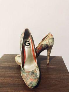 d435ba944667 G By Guess- 6.5 - Floral Platform Pumps  fashion  clothing  shoes