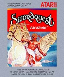 Swordquest - airworld one of the games that ready player mentions Comic Book Panels, Comic Book Covers, Comic Books, Ready Player One Book, Video Game Art, Video Games, Games Box, Game R, Collages