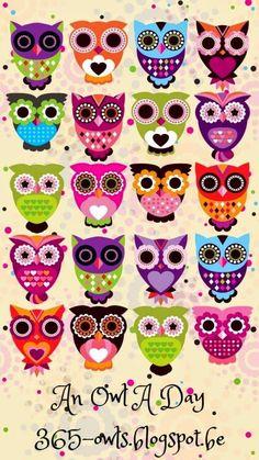 Cute Owls Wallpaper, Cartoon Wallpaper, Iphone Wallpaper, Desktop Backgrounds, Trendy Wallpaper, Hd Desktop, Wallpapers, Iphone Cartoon, Owl Cartoon