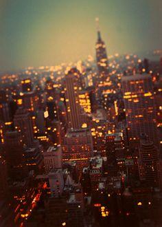 city lights, sleepless nights