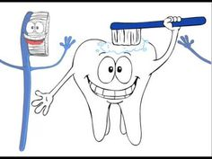 Brush Your Teeth (+playlist) dental health month activity