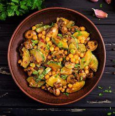 Good Healthy Recipes, Quick Recipes, Healthy Cooking, Healthy Eating, Cooking Recipes, Chickpea Recipes, Vegetable Recipes, Vegetarian Recipes, Vegan Baby