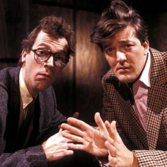 Хью и Стивен -)