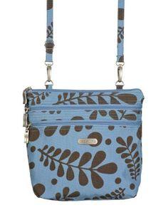 fe601b1d91 Baggallini Zipper Crossbody Travel Bag Fashionable zippers keep the zipper  bag looking fresh