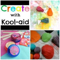 Kool-Aid for crafts? Yes, please!