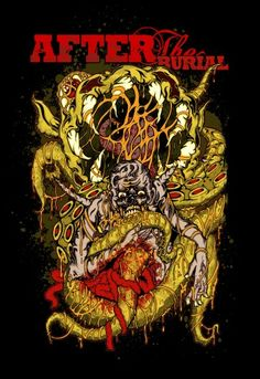 """AFTER THE BURIAL """"USA"""""""