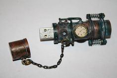 steampunk'd flash drive