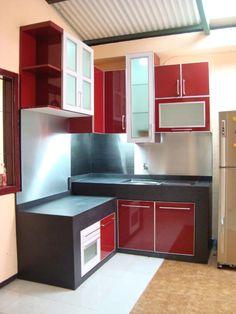 Design Kitchen Set Untuk Dapur Kecil interior dapur kitchen set minimalis - eksterior, interior