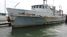 Dock Find: 1958 Navy Mine Hunter!