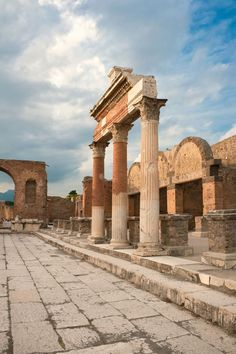 The Ancient City of Pompeii, Italy Campania