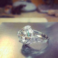 Platinum, diamonds, emeralds #tw...
