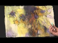 Preview the Abstract Art Techniques Painting Flowers in Pastel with Debora Stewart from www.ArtistsNetwork.tv here now for some quick take-home pastel painting tips--pastel painting has never felt so liberating!