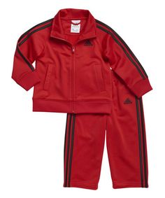 Love this Red Performance Tricot Tracksuit - Toddler & Boys on #zulily! #zulilyfinds