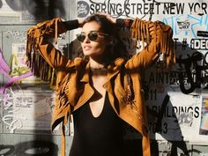 TheyAllHateUs | Page 9 ❤️#loveit the #Fringed Suede Jacket. I have one ❤️❤️❤️