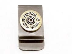 12 gauge Brass Shotgun Shell Money Clip Gift Accessory Jewelry for Men Fathers Day Groom Wedding ** Find out more about the great product at the image link.Note:It is affiliate link to Amazon. #startup