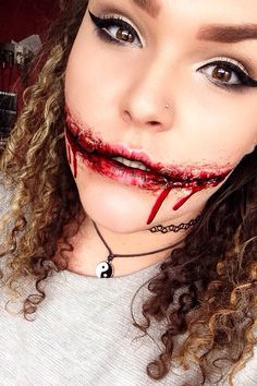 Special effects makeup. Chelsea smile. Instagram EmilyJayneFX ...