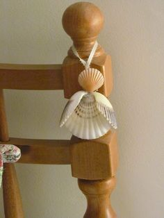 Gaurdian Angel Cape Cod Shell Angel by apresto on Etsy, $20.00