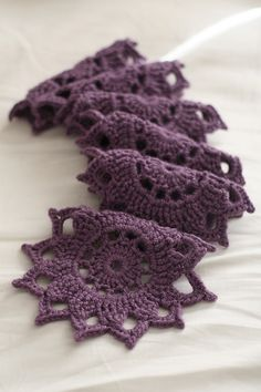 Crochet a Medallion Motif Scarf (free pattern)  This is beautiful...Hmmmmm...I can definitely see the same under my Christmas stuff on Christmas Morning...Hmmmmmmm...