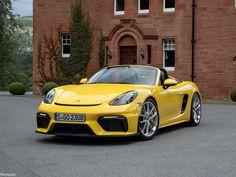 Boxster Spyder, Porsche 718 Boxster, Porsche 718 Cayman, Porsche Motorsport, Porsche Yellow, Cayman S, Luxury Suv, Automobile, Two By Two