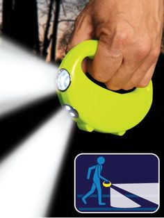 I've got to get one!  Nightlighter Flashlight - Why has no one thought of this earlier?!