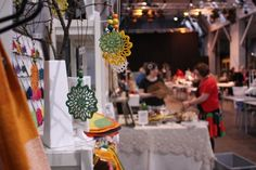 This weekend 14-15 December there will be a Christmas Market at Korjaamo focused mainly on art, culture and design.