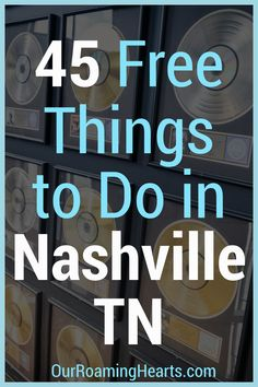 While visiting the Nashville area there is so much to see and take in, make sure to a few of these 45 free things to do in Nashville TN to your list! #nashville #tennessee #thingstodo #ourroaminghearts #frugaltravel #freeattractions | Nashville | Tennessee | Things to do in Nashville | Travel Nashville | Frugal Travel | Family Travel | Free Family Attractions Usa Travel Guide, Rv Travel, Travel Advice, Family Travel, Travel Destinations, Budget Travel, Travel Ideas, Travel Tips, Nashville Trip