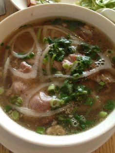 Beef noodle soup - Pho & Spice in Waltham, MA