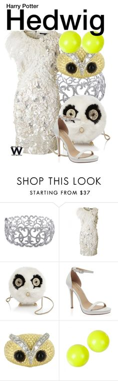 """Harry Potter"" by wearwhatyouwatch ❤ liked on Polyvore featuring Ice, French Connection, Kate Spade, Vintage, Alexis Bittar, wearwhatyouwatch and film"