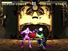 Killer Instinct Snes Cinder Gameplay/Ending