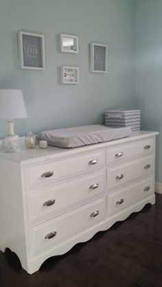 1000 ideas about changing table dresser on pinterest Nursery chest of drawers with changer