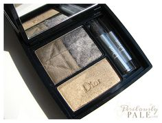 Dior 3 Couleurs Smoky Palette in 481 Smoky Khaki ~ Photos, Swatches, Review  Perilously Pale