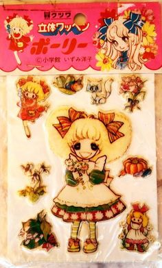 Vintage Japanese stickers