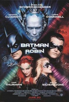 """Batman & Robin -1997 :  Hated it.. Robin... glad they have changed the direction and launched """"Batman Return"""" in 2005.."""
