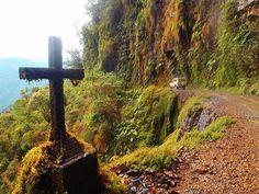 Death Road, La Paz Bolivia Yungas Road, Dangerous Roads, I Want To Travel, Bolivia, Finland, South America, Bella, Trail, Wanderlust
