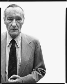 William Burroughs, photographed by Richard Avedon.