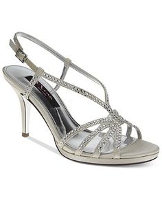 909330bcd1a12 Nina Bobbie Sandal Bridal Shoes