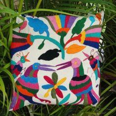 Mexican design pillow