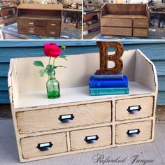 Mail cubby makeover
