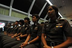 Recruiting women police officers is key to the rule of law. In this photo, Thai police cadets receive training on ending violence against women and girls. More on the UN's rule of law work: http://unrol.org/. Photo credit: UN Women/Panya Janjira