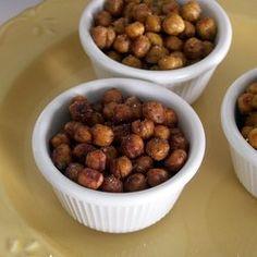 Spicy Cajun Roasted Chickpeas