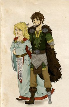 Future Hiccup and Astrid