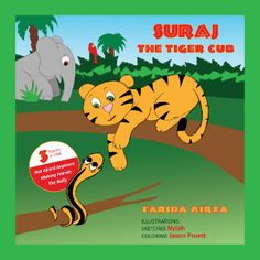 #SCBWISOCALLA member F.Mirza's picture book (for ages 4-8) empowering children with entertaining and enlightening stories. https://www.createspace.com/Preview/1094424