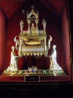 Reliquary of the cross of Saint Claude Notre Dame de Paris treasury