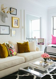 Rock your studio with these decorating and space maximizing tricks.