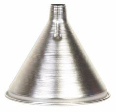 Aluminum Funnel 12 oz by Harold Import Company, Inc.. $5.50. Aluminum construction. 12 ounce. Aluminum Funnel for canning and preserves, 12 oz.