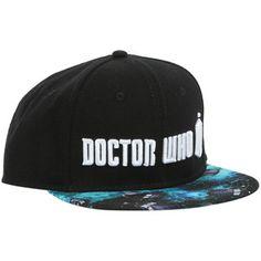e922d66d9fb Doctor Who TARDIS Logo Snapback Hat