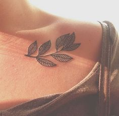 #tattoo #design #leaves