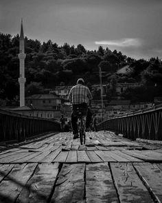 Playing with bikes #SkadarLake #Albania #blackandwhitephotography #blackandwhitephoto #black #white #photography #blackandwhite